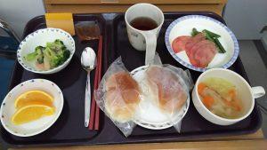 朝食はB食