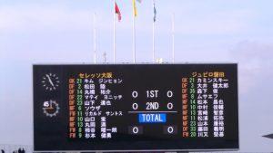 セレッソ大阪 0-0 ジュビロ磐田