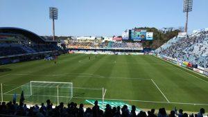 ヤマハスタジアム(磐田):ゴール裏席から