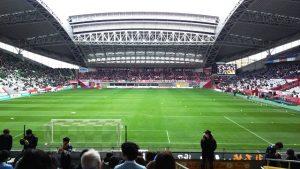 ゴール裏席から|ノエビアスタジアム神戸