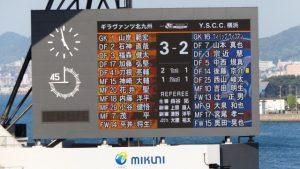 試合結果|北九州 3-2 YSCC