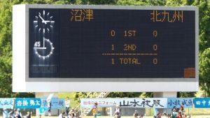 試合結果 沼津 1-0 北九州