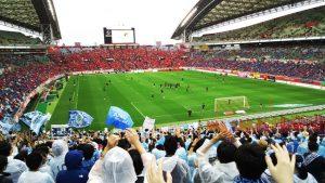 アウェイ側ゴール裏|埼玉スタジアム2002