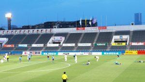 終了直後|YSCC横浜 1-1 藤枝myfc