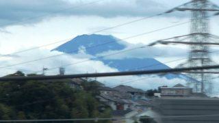 富士山|新幹線の車窓から