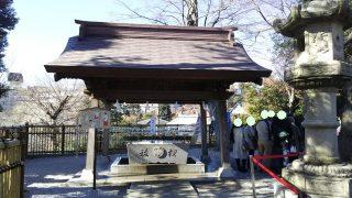 手水舎|師岡熊野神社