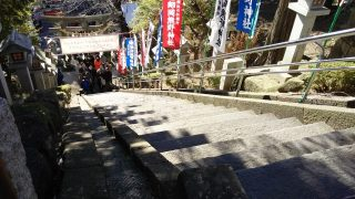 階段(上から)|師岡熊野神社