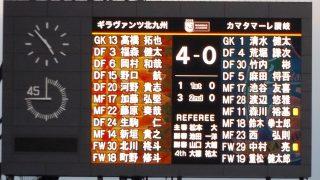 北九州4-0讃岐|2019 J3 北九州 vs. 讃岐