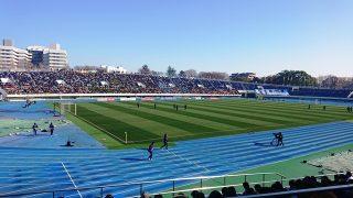 駒沢陸上競技場|静岡学園 vs. 岡山学芸館