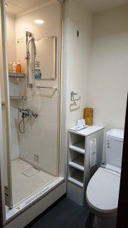 シャワールーム|スーパーホテル札幌・すすきの 天然温泉 空沼の湯