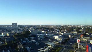 朝食会場からの眺望|磐田グランドホテル
