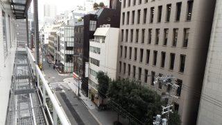 窓からの眺め アパヴィラホテル<淀屋橋>(アパホテルズ&リゾーツ)