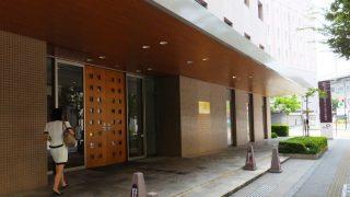 ホテルの入口|三井ガーデンホテル岡山