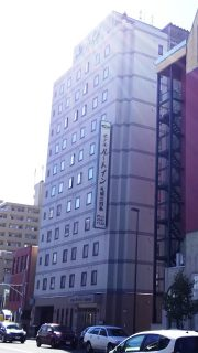ホテルの外観|ホテルルートイン札幌北四条