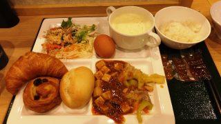 朝食 スーパーホテル品川・新馬場