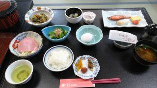 朝食 かみのやま温泉 別館ふじや旅館<山形県>