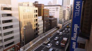 窓からの眺望|ドーミーイン心斎橋