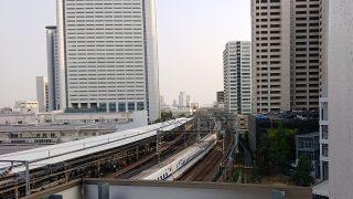 線路側の部屋から|スーパーホテルPremier武蔵小杉駅前