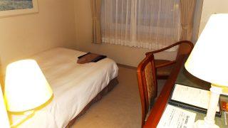 シングルルーム(入口側から)|ホテルマイステイズプレミア札幌パーク(旧アートホテルズ札幌)