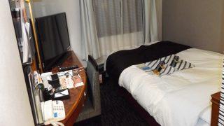 シングルルーム(入口側から)|アパホテル
