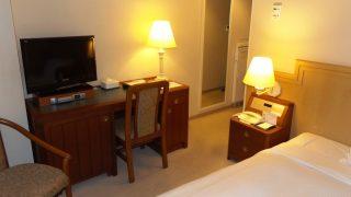 シングルルーム(奥側から)|ホテルマイステイズプレミア札幌パーク(旧アートホテルズ札幌)