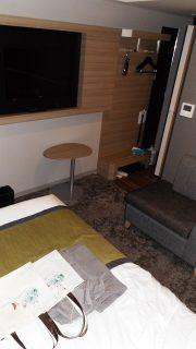 シングルルーム(奥側から)|アルモントホテル仙台