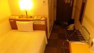 シングルルーム(奥側から)|ホテル ウイング・ポート長崎