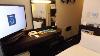 シングルルーム(奥側から) アパヴィラホテル<淀屋橋>(アパホテルズ&リゾーツ)