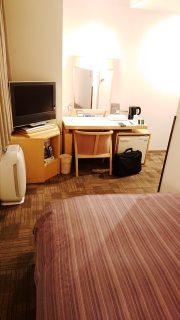 シングルルーム(奥側から)|ホテルルートイン 札幌駅前北口