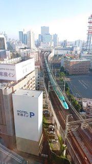 トレインビュー|アパヴィラホテル<仙台駅五橋>