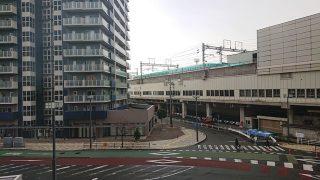 窓からの眺望(盛岡駅)|ホテルルートイン盛岡駅前