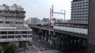 窓からの眺望(新今宮駅)|ビジネスホテル サンプラザ