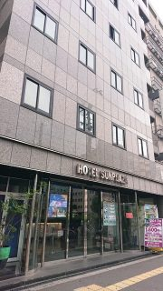 ホテルの外観|ビジネスホテル サンプラザ