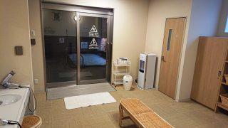 脱衣場から見た大浴場|ホテルビスタ仙台