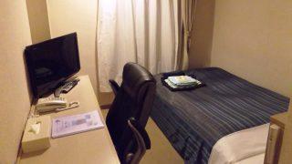 シングルルーム(入口側から)|上諏訪温泉 諏訪レイクサイドホテル