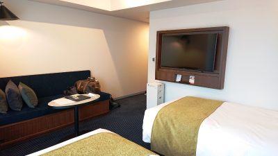 ツインルーム(奥側から)|ホテルメトロポリタン川崎