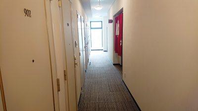 女性専用エリアの通路|立川アーバンホテル